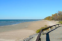 It was nearly 80 degrees at Southwick Beach State Park on October 21st!